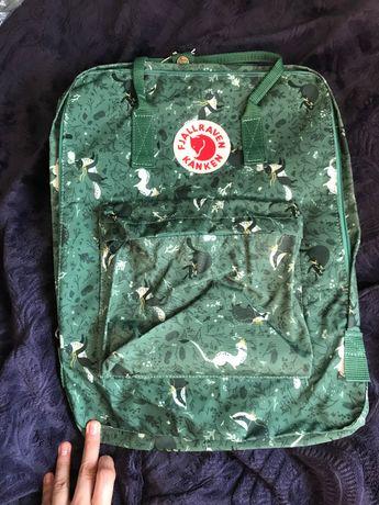 Plecak Kanken Big Art Green Fable Fjallraven zielony unikat