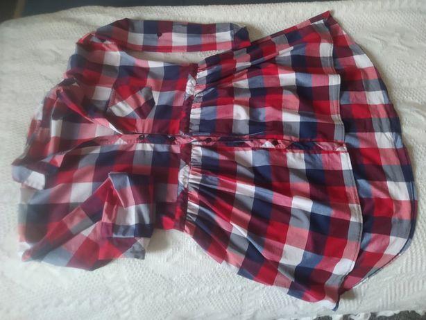 Koszula sukienka tunika M