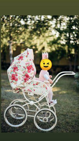 Коляска для принцеси, ретро коляска geoby Katarina