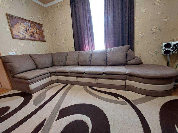 Мягкий уголок раскладной, диван большой 4000*1600