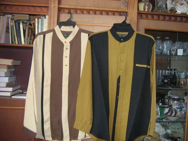 Рубашки мужские разные цвета