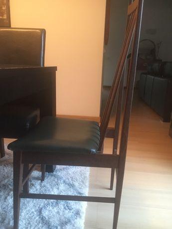 Conjunto 6 cadeiras vintage estilo olaio impecaveis