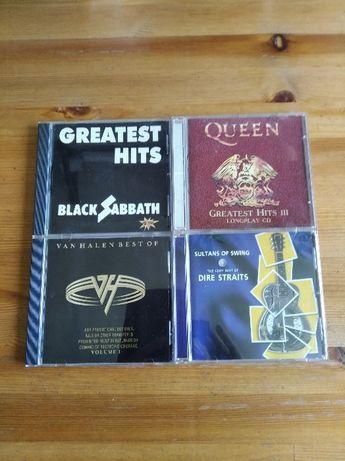 Te best of Black Sabbath,Van Halen,,Dire Straits cd