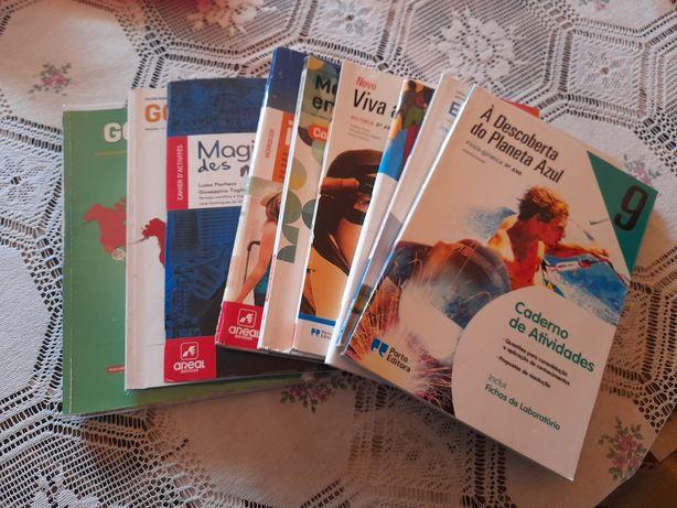Cadernos de actividades 9°ano