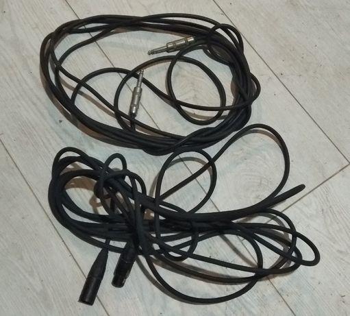 Инструментальный и микрофонный аудио кабель