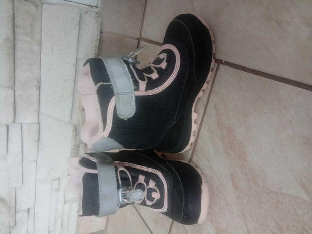 Buty dziewczece zimowe