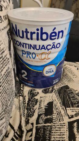 Lata de leite nutriben alfa 2 selada