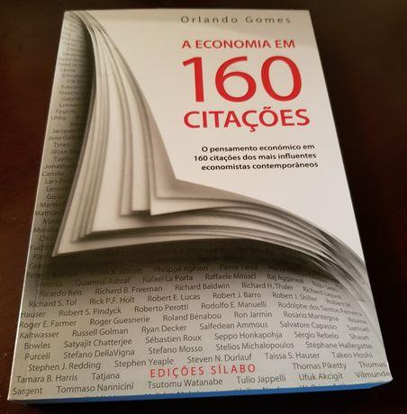 A economia em 160 citações - Orlando Gomes