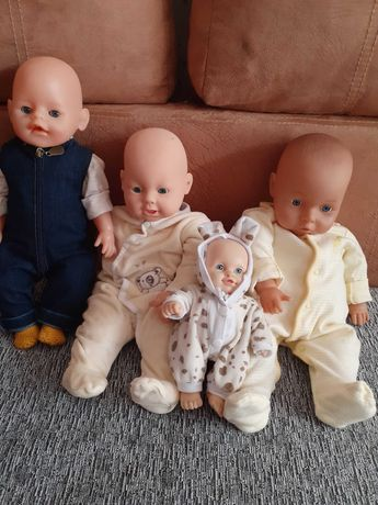 Пакет кукол пупсов с дефектами