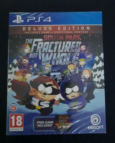 Nowa w folii gra ps4 south park The Fractured But Whole deluxe edition