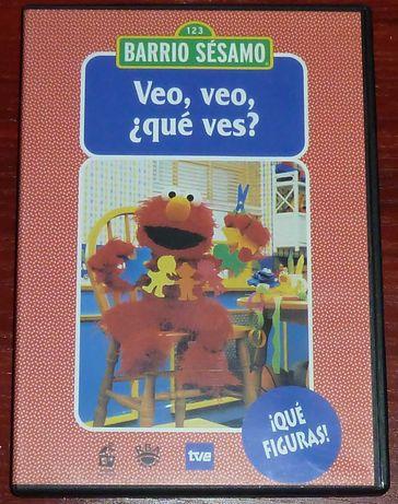 Ulica Sezamkowa DVD Język Hiszpański nr 16