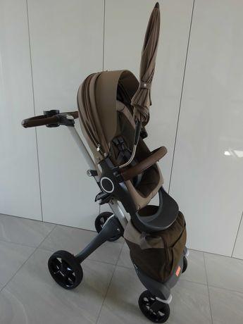 Stokke Xplory V5  Stroller Brown 468103 wózek 2w1