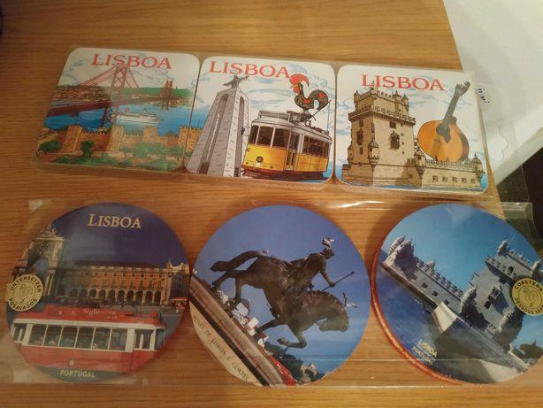 2 Conjuntos de Bases para copos, garrafas - Lisboa
