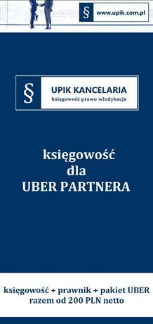Biuro rachunkowe, Księgowość, Księgowa dla Uber Partnera
