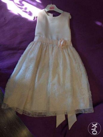 Платье принцессы (5-7 лет)