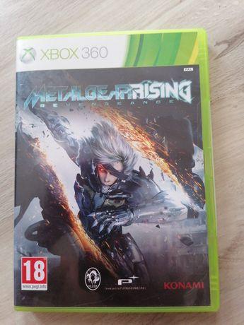 Metal Gear rising revengeance xbox 360 stan idealny
