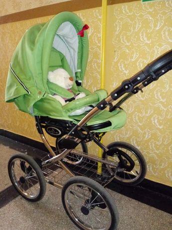 Wózek Bebetto Fabio 2w1, duże pompowane koła, jak nowy mało używany!!