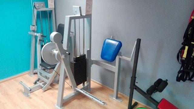 Atlas do ćwiczeń Pośladki Glute Nogi OLYMP 0059 stos 100kg!!