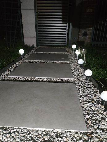 Płyty tarasowe, ogrodowe 5 cm z betonu architektonicznego