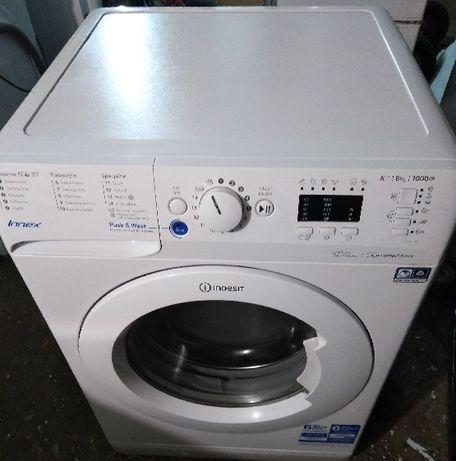 Tanio sprzedam pralkę automatyczną INDESIT Kl.AA Ład. 8 KG Innex