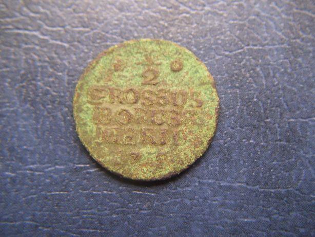 Stare monety 1/2 grosza 17?? Prusy do identyfikacji