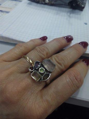 Anel prata Indiana tamanho 17. 5