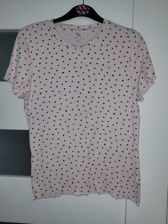 Różowa bluzeczka cropp r.L