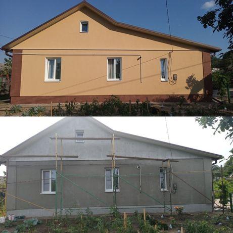 Утеплення будинків/квартир. Фасадні(висотні) роботи.