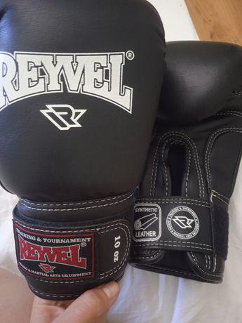 Rayvel боксерские перчатки 10oz и шлем xl в идеальном состоянии