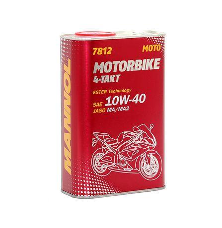 Olej Motocyklowy MANNOL 4T 10W40 1 litr półsyntetyk Honda Yamaha