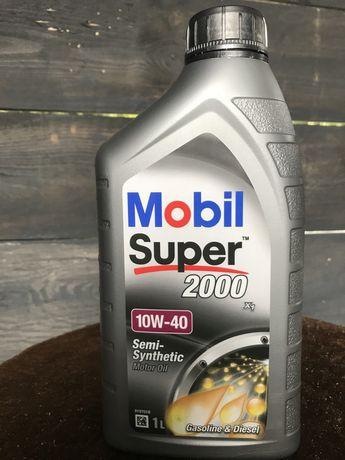 Olej do samochodu - 10W-40, Mobil Super 2000