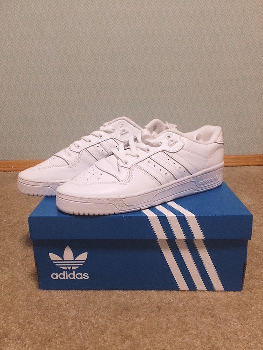 Кроссовки Adidas rivalry low white original Софиевская Борщаговка - изображение 1