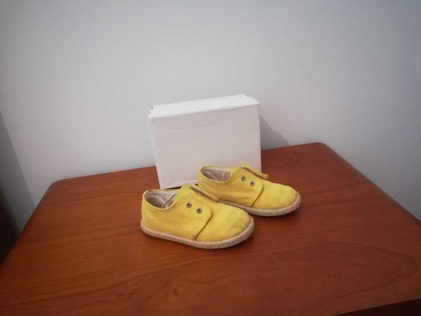 Sapatos  tecido menino
