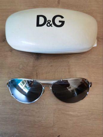 Óculos estilo aviador, como novos, originais da D&G
