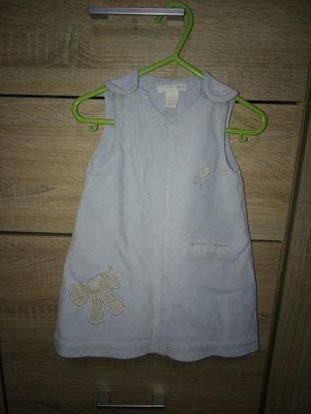 Trzy Sukienki H&M F&F rozmiar 68-74 cm 80 cm