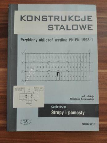Książka Konstrukcje Stalowe Stropy i pomosty