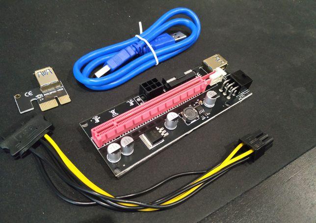 Risers PCI-E para mineração novos