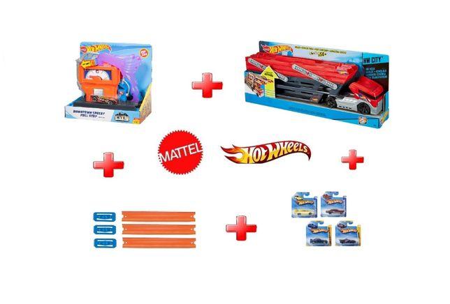 Mattel Hot Wheels® Mega Hauler™ GHR48 CKC09 Автовоз set#002 Хот Віл