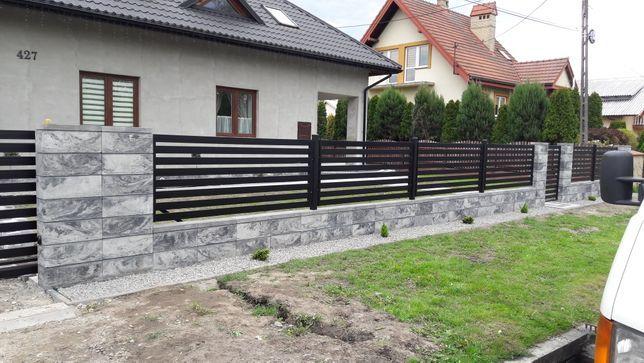 Ogrodzenia nowoczesne, bramy, balustrady, siatka panelowa