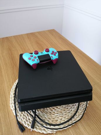 KONSOLA PS4 500GB SLIM + PAD + 9 gier