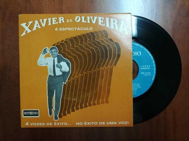 Disco de vinil (single) -  Xavier de Oliveira *È Espectáculo*