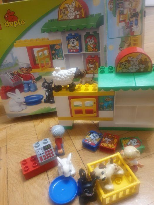 Zestaw klocki Lego duplo 5656 sklep zoologiczny × gratis Warszawa - image 1