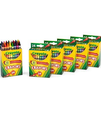 Кольорові масляні олівці, фломастери Crayola оригінал