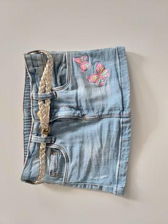 Spódniczka jeansowa nowa +gratis