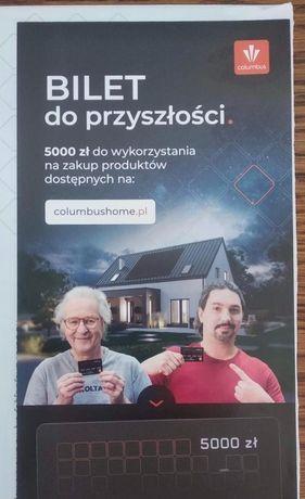 BON 5000 zł na fotowoltaikę, COLUMBUS.