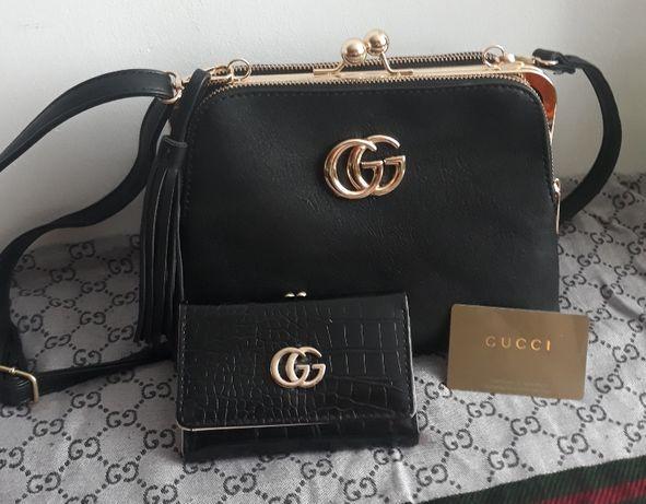Torebka z portfelem Gucci
