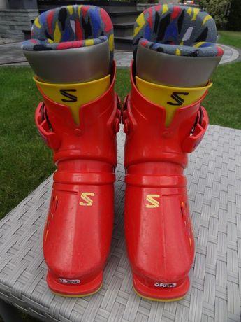 Buty narciarskie dziecięce SALOMON dł. wkładki 22,0cm