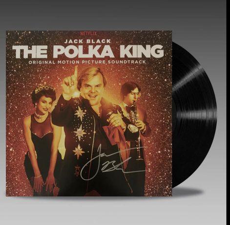 Винил The Polka King с автографом Джека Блэка