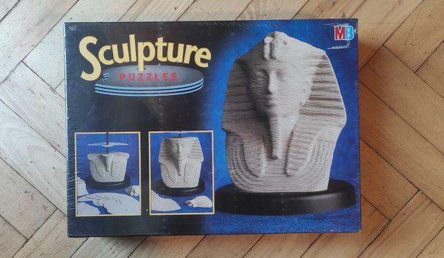 MB Sculpture Puzzles - Faraon Tutanchamon - puzzle 3D
