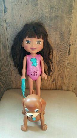 Fisher-Price Интерактивная кукла Даша путешественница и щенок Перрито